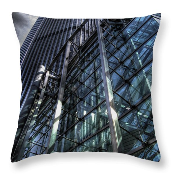 Dimensions Throw Pillow by Yhun Suarez