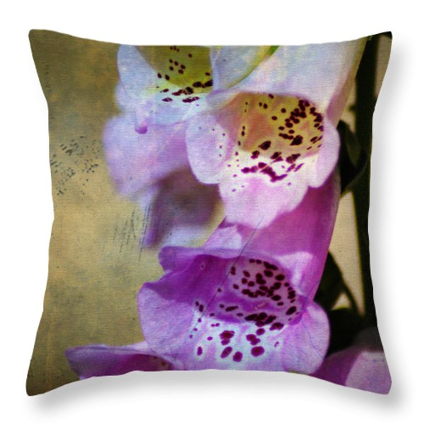 Dirty Belles Throw Pillow by Bill Cannon