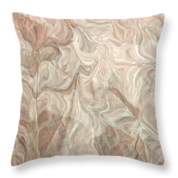 Distractions Throw Pillow by Bonnie Bruno