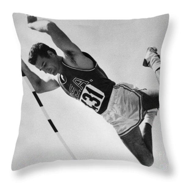 Donald Bragg (1935- ) Throw Pillow by Granger