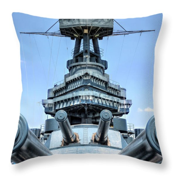 Don't Mess with Texas Throw Pillow by JC Findley