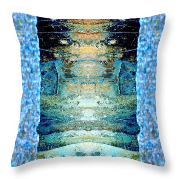 Door To Fantasy Throw Pillow by Marcia Lee Jones