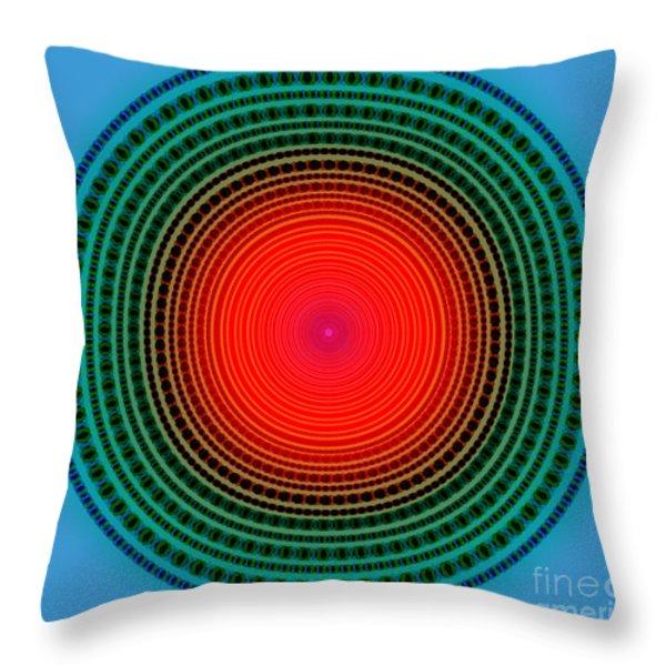 dots x-ray Throw Pillow by ATIKETTA SANGASAENG