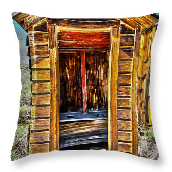 Double Header Throw Pillow by Cheryl Young