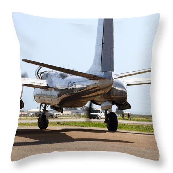 Douglas A26B Military Aircraft 7d15764 Throw Pillow by Wingsdomain Art and Photography