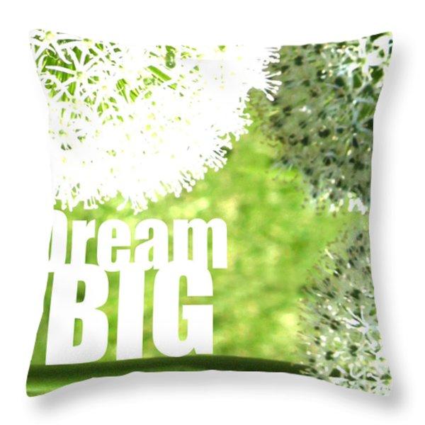 Dream Big Throw Pillow by Lj Lambert