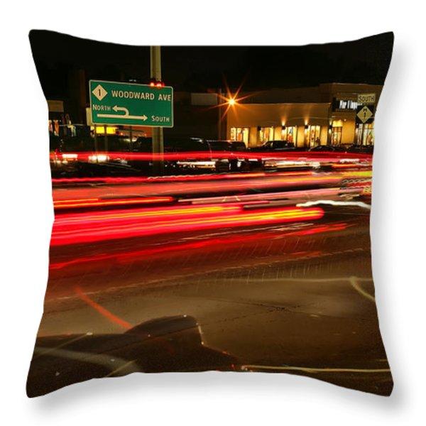Dream Cruisin' Throw Pillow by Gordon Dean II