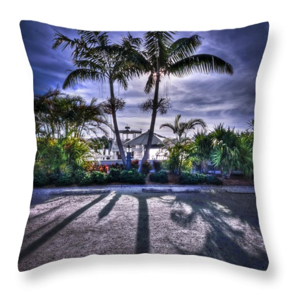 Dreamscapes Throw Pillow by Evelina Kremsdorf