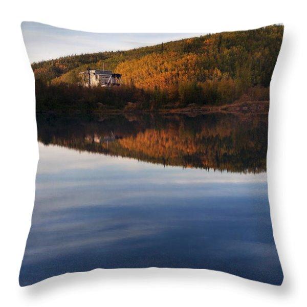 Dredge No. 4  Throw Pillow by Priska Wettstein
