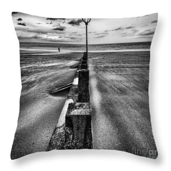 Drifting sands Throw Pillow by John Farnan