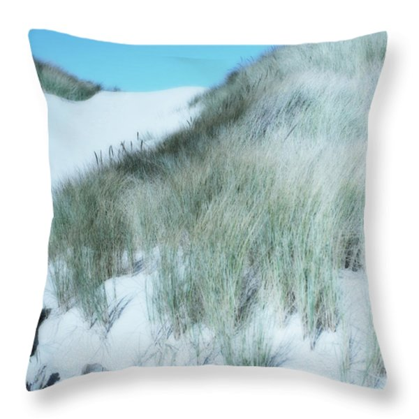 Dune Throw Pillow by Bonnie Bruno