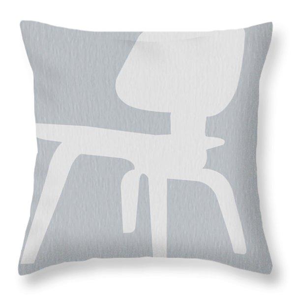 Eames Plywood Chair Throw Pillow by Naxart Studio