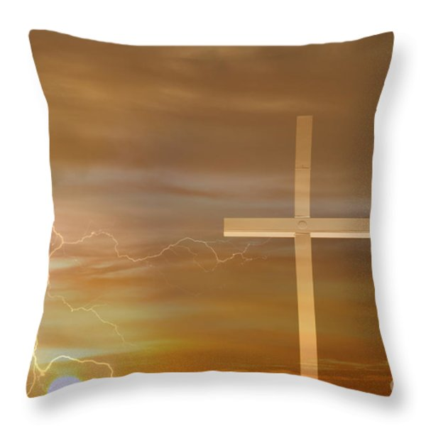 Easter Sunrise Throw Pillow by James BO  Insogna