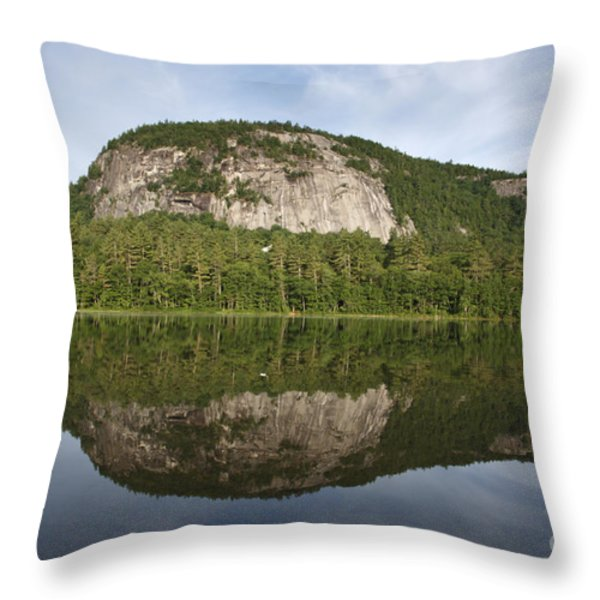 Echo Lake State Park - North Conway  New Hampshire Usa Throw Pillow by Erin Paul Donovan