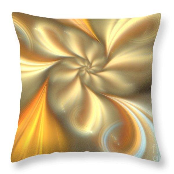 Ecru Throw Pillow by Kim Sy Ok