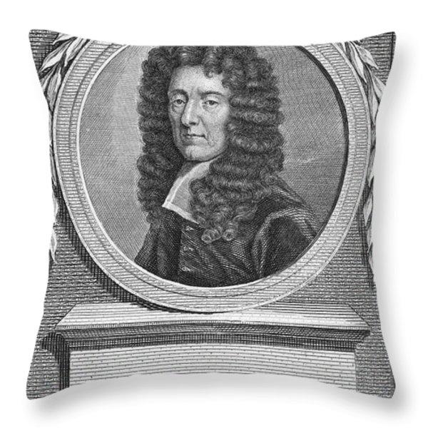 Edmund Waller (1606-1687) Throw Pillow by Granger