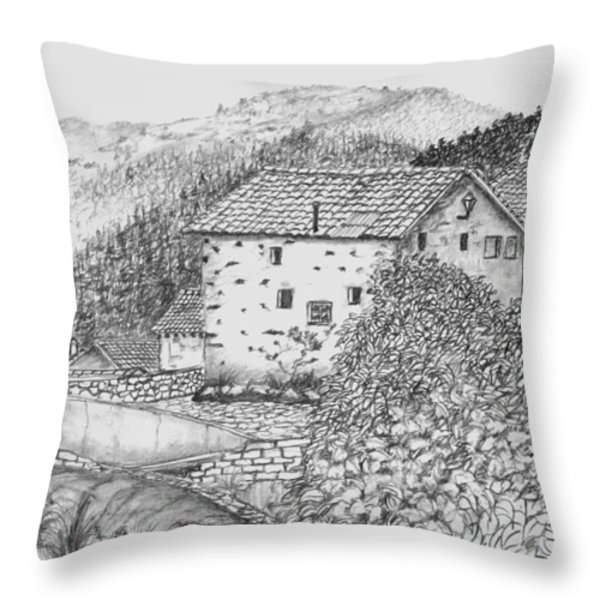 El Rasillo Throw Pillow by John Stuart Webbstock