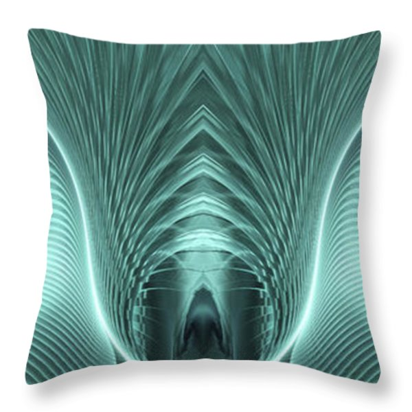 Electric Sheep Throw Pillow by John Edwards