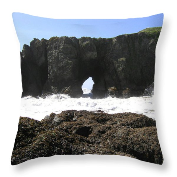Elephant Rock 2 Throw Pillow by Will Borden