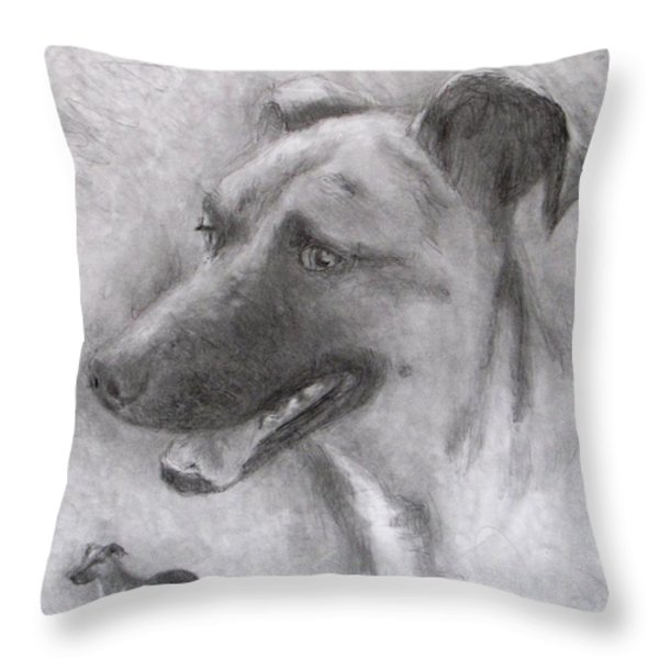 Eliot Throw Pillow by Jack Skinner