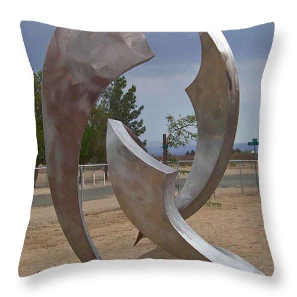 Embrace Throw Pillow by John Neumann