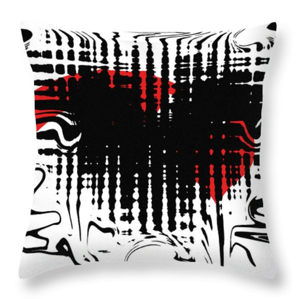 Emotion Throw Pillow by David Dehner
