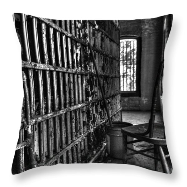 Empty Throw Pillow by Dan Stone