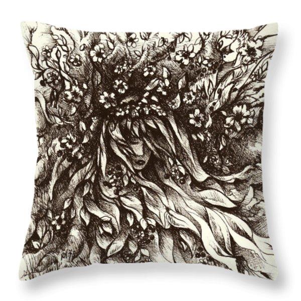 Enchantment Throw Pillow by Rachel Christine Nowicki