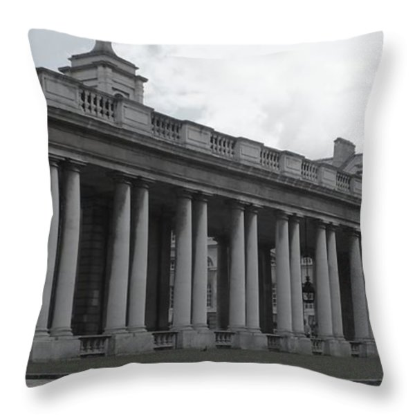 Endless Columns Throw Pillow by Anna Villarreal Garbis