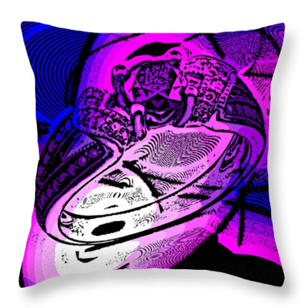 Engagement Ring Throw Pillow by George Pedro