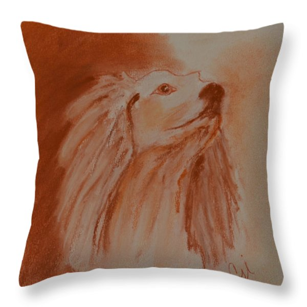 Enlightenment Throw Pillow by Cori Solomon