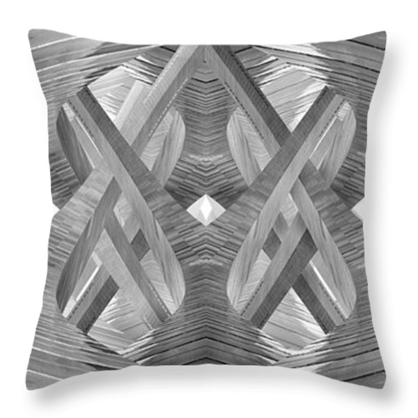 Entangled Throw Pillow by Mike McGlothlen