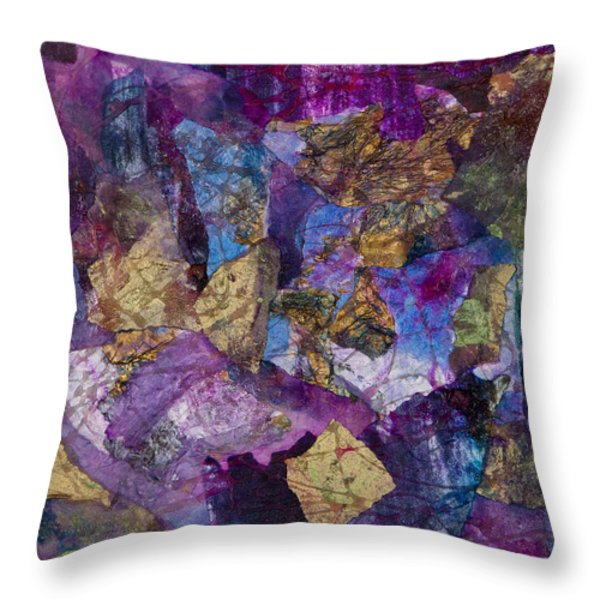Entanglement Throw Pillow by Don  Wright