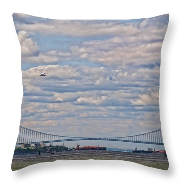 Enterprise 2 Throw Pillow by S Paul Sahm