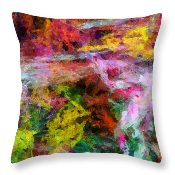 Entusiasmo Throw Pillow by RochVanh