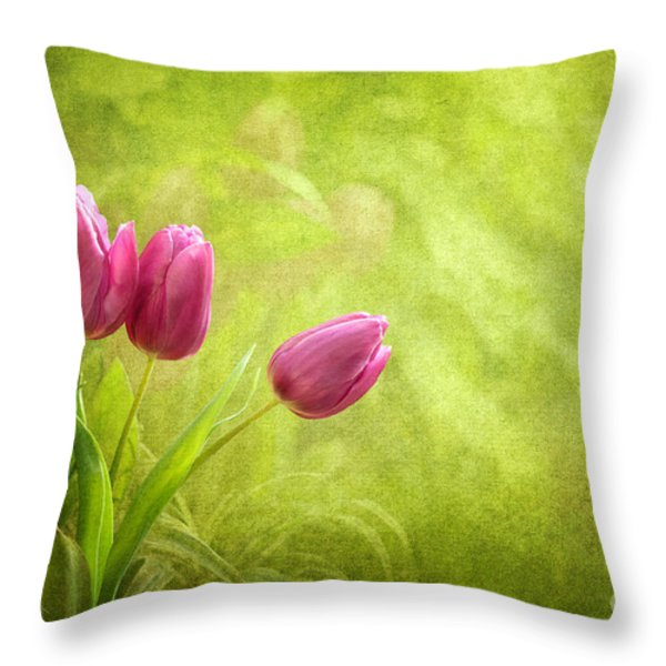 Essence Of Spring Throw Pillow by Reflective Moments  Photography and Digital Art Images