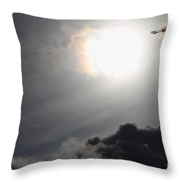 Eternity Throw Pillow by Wingsdomain Art and Photography