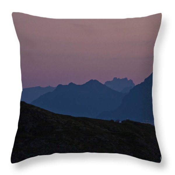 Evening Mood  Throw Pillow by Heiko Koehrer-Wagner