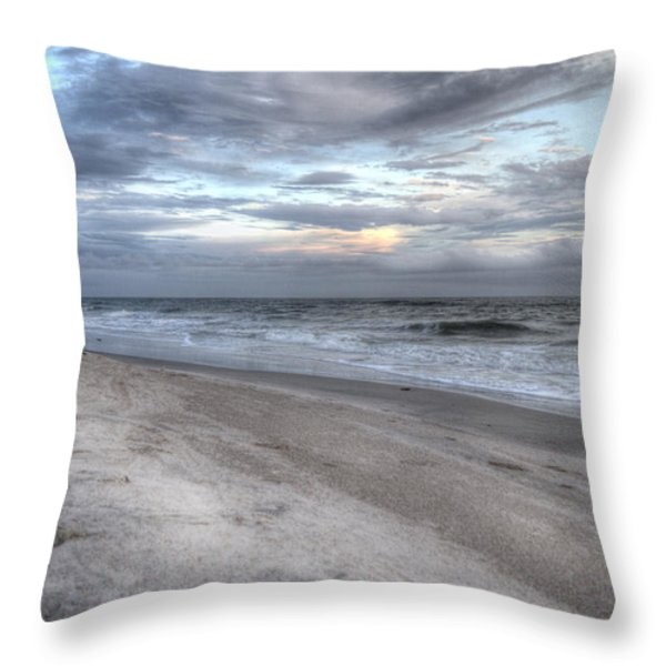 Evening Paradise Throw Pillow by Betsy A  Cutler
