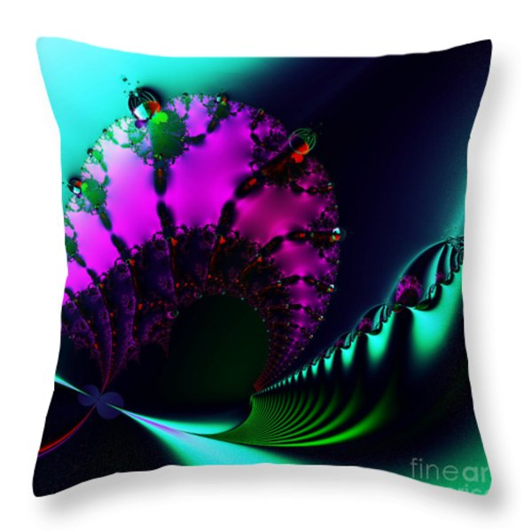 Event Horizon . S17 Throw Pillow by Wingsdomain Art and Photography