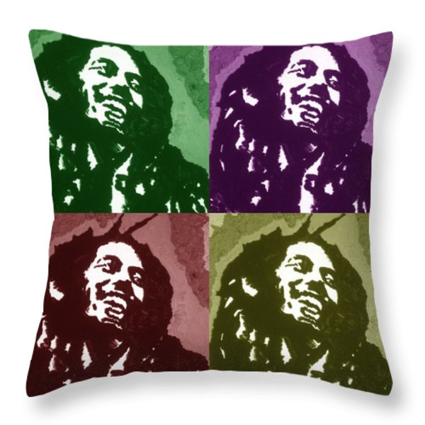 Everything Is Going To Be Alright Throw Pillow by Robert Margetts