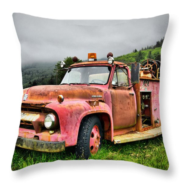 Faithful Servant Throw Pillow by Nena Trapp