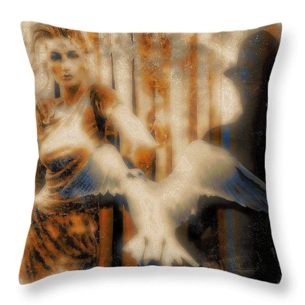 Fantasies of You Throw Pillow by Tisha McGee