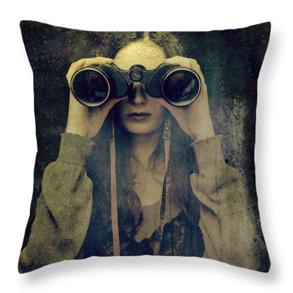 Far Away Throw Pillow by Pawel Piatek