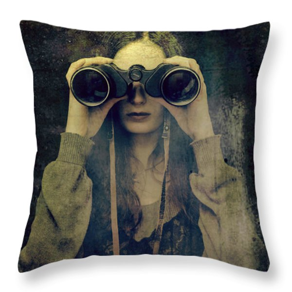 Far Away Throw Pillow by Pawel Piatek
