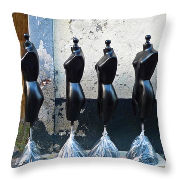 Fashion Throw Pillow by Skip Hunt