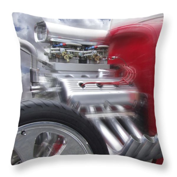 Feel The Power Throw Pillow by Mike McGlothlen