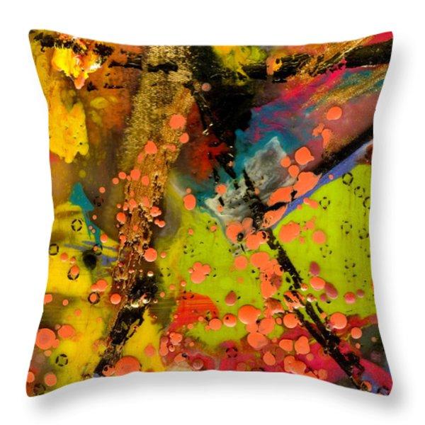 Feeling Free Throw Pillow by Angela L Walker
