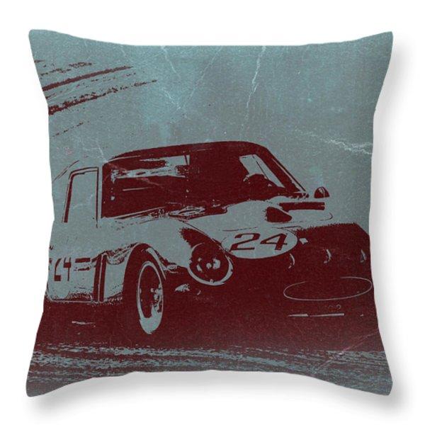 Ferrari Gto Throw Pillow by Naxart Studio
