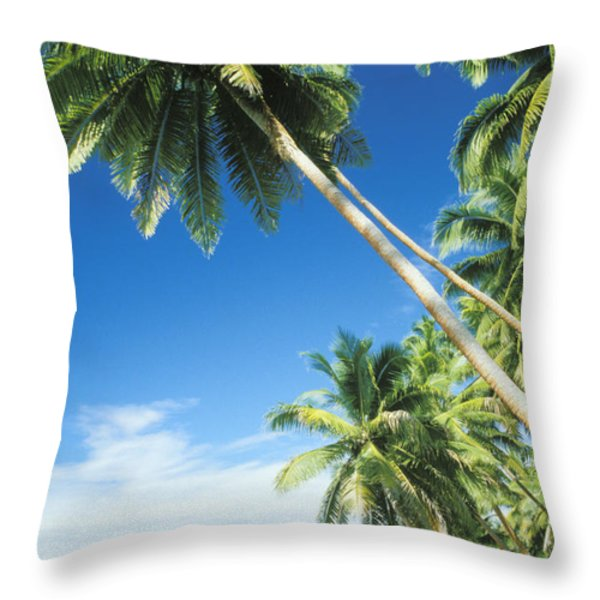 Fiji, Vanua Levu Throw Pillow by Peter Stone - Printscapes